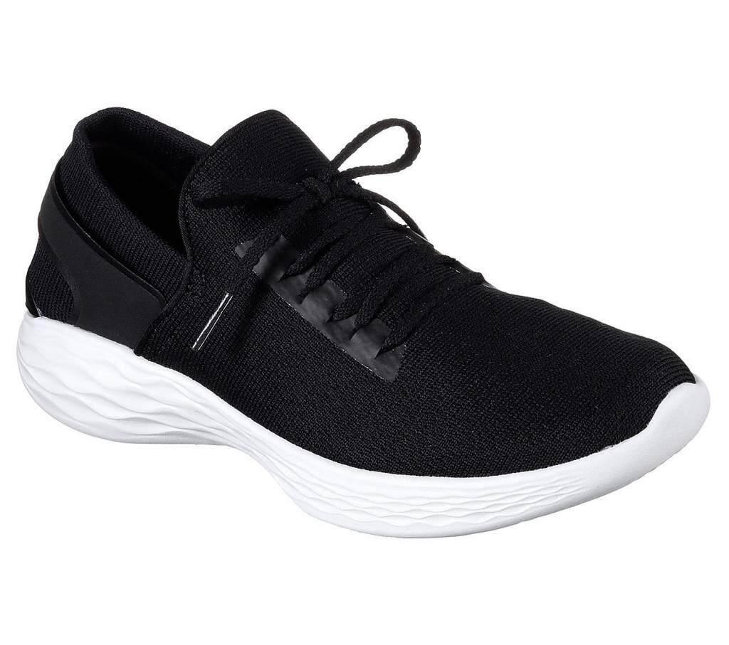 SKECHERS WOMEN รองเท้าผ้าใบ ผู้หญิง รุ่น YOU INSPIRE - 14950BKW (BLACK)