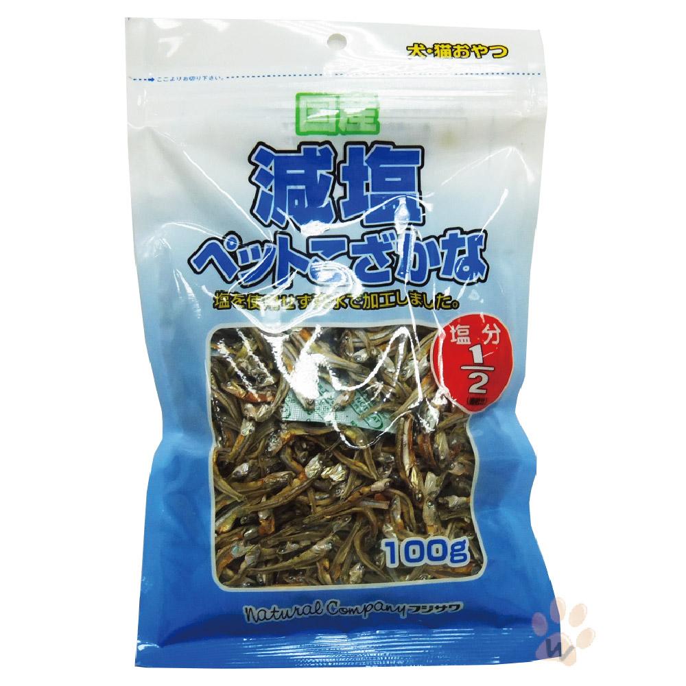 日本零食 藤澤低鹽小魚乾100g