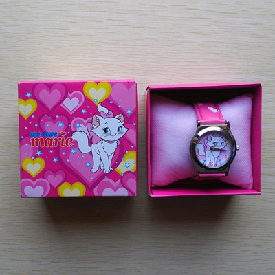Silver Spoon AristoCats cats cartoon watch children s electronic student watch anime girls boxed wat