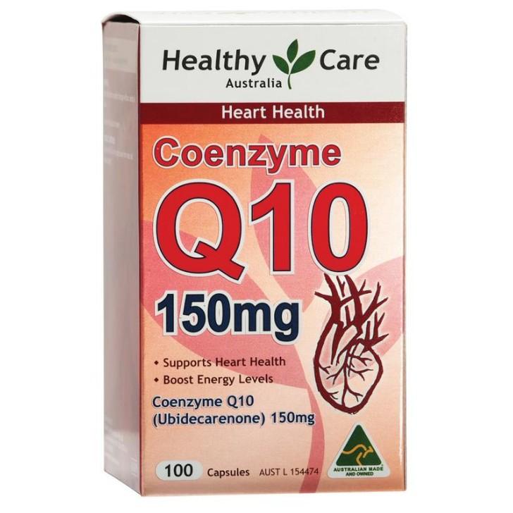 澳洲Healthy Care 輔酶Q10 150mg軟膠囊100粒