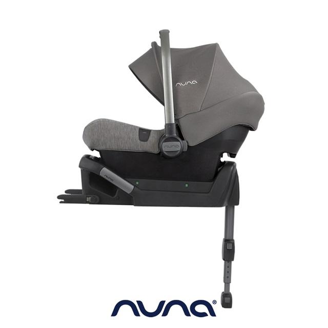 荷蘭NUNA-PIPA lite提籃汽座附底座-灰色