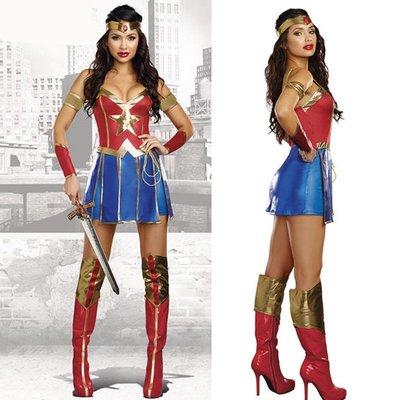 高雄艾蜜莉戲劇服裝表演服*成人性感神力女超人服裝*購買價$800元/出租價$400元