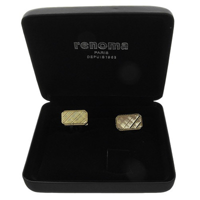 [OFFICIAL KOREA AK PLAZA]Renoma shirts - Renoma gold cufflinks VHRTF 1003