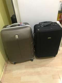 Delsey 25 Inches n 23 inches Luggage