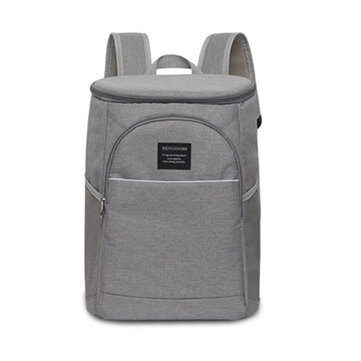 18L Picnic Insulated Cooling Backpack Ice Cooler Bag Lunch Box Food Container Pouch Outdoor Camping BBQ