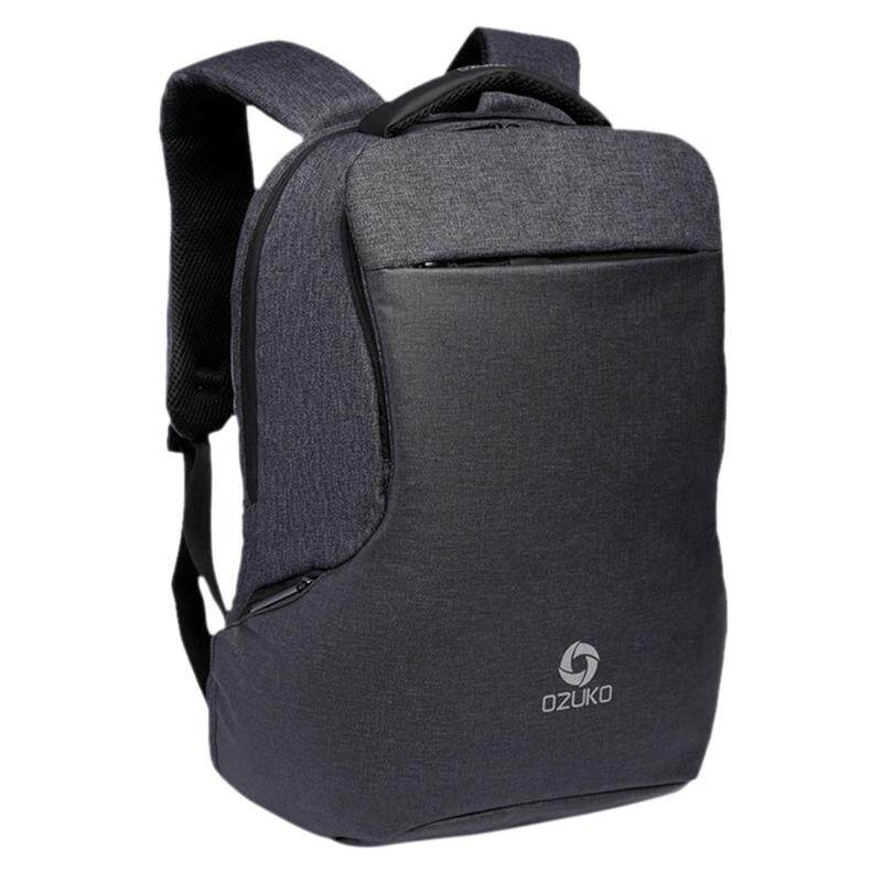 Ozuko Multi-Function Backpack Casual Student Bag Laptop Bag Travel Backpack Waterproof Backpack