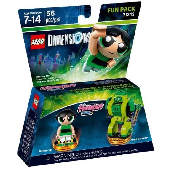LEGO 71343 飛天小女警 毛毛 Dimensions 系列