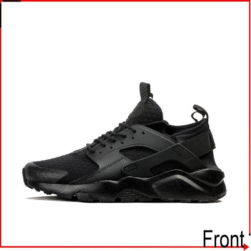 Front前線 Nike Air Huarache Run Ultra 857909-002 全黑武士 三代 全黑 男女