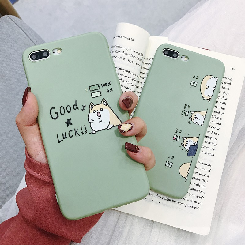 VIVO Y66 Y55 Y67 Y95 Y97 Y71 Y75 V7 V9 Y81 Y85 X21 Y91i V11i case dog soft cover