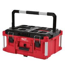 免運費【台灣工具】美國 Milwaukee 米沃奇 配套工具箱 可堆疊工具箱 48-22-8424 48-22-8425