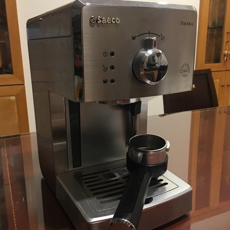 二手 PHILIP飛利浦 Saeco HD8327 家用半自動義式咖啡機