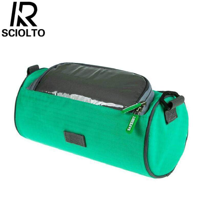 (Free Shipping for WM - Klang Valley,WM - Non Klang Valley,EM - Sabah)SCIOLTO SPORTS Oxford Material Bicycle Front Outdoor Multifunction Waterproof