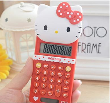 JIJI (Hello Kitty Vertical Calculator) /Office / Home / School Use / Cartoon / (SG)