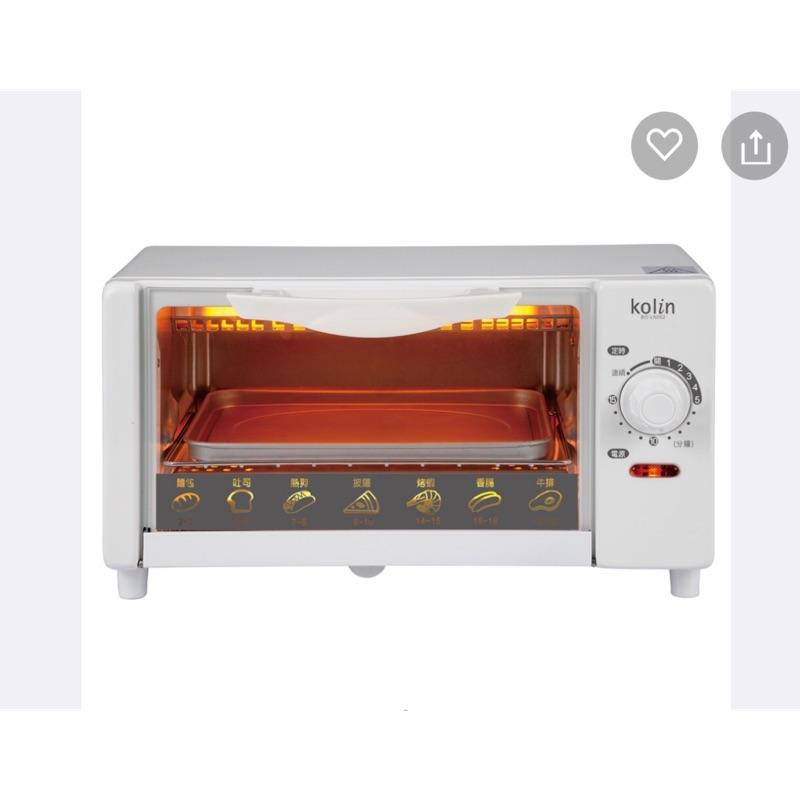 二手 歌林kolin 電烤箱 6公升 Bo-LN062