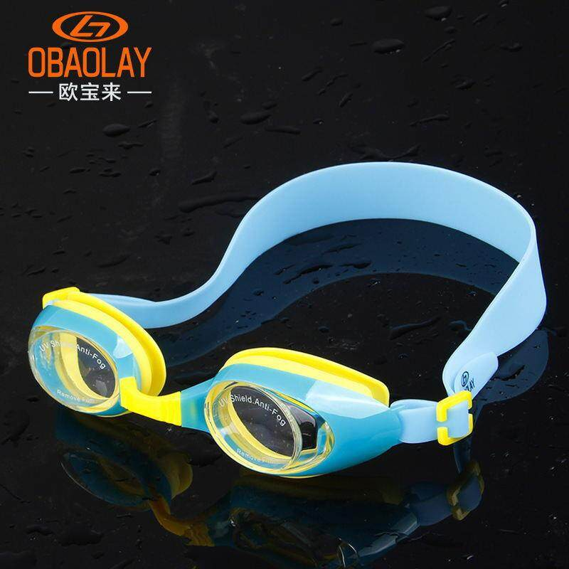 Swimming Supplies Large Frame Goggles Case Phone Case Hd Flat Waterproof Anti-fog Children Swimming Goggles