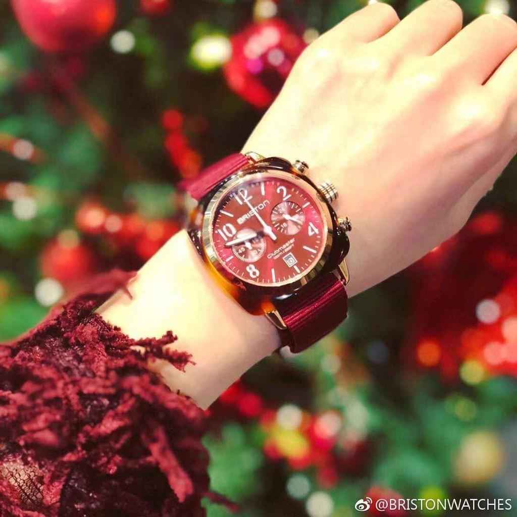 法國briston手錶布里斯頓手錶女周冬雨同款情侶夜光石英腕表ob男
