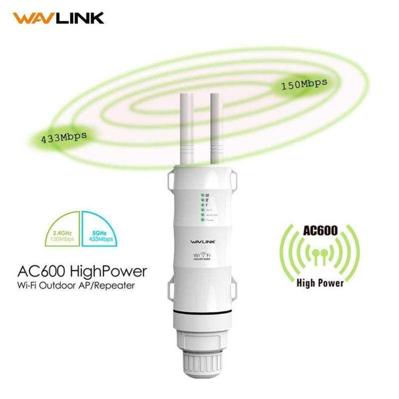 USTORE Wavlink Outdoor Waterproof Wifi Router 2.4G + 5GHz AP Repeater Wifi Extender
