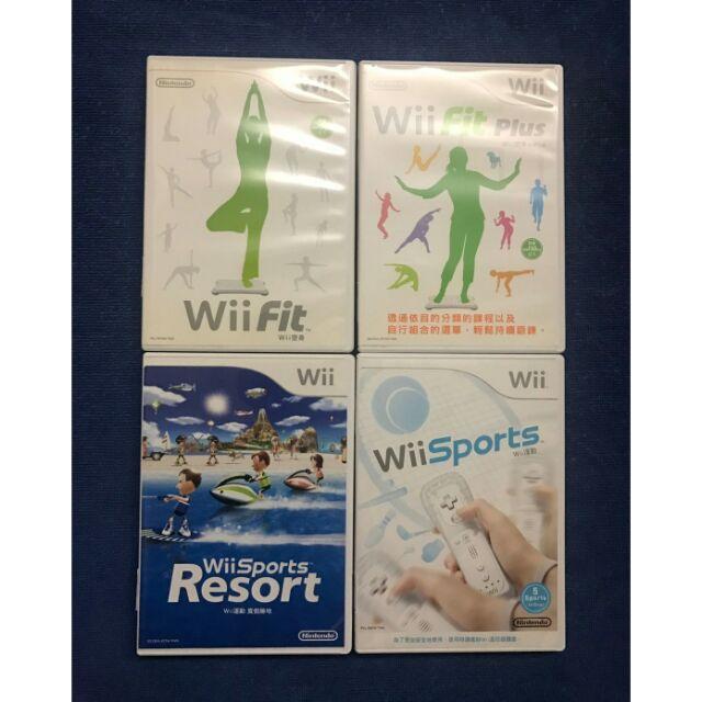 Wii 正版 二手遊戲 中文版 原版片 運動塑身 渡假勝地 Wii Fit Plus 平衡板