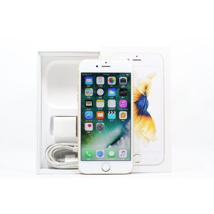 【青蘋果3C】Apple iPhone 6S 金色 16G 16GB 4.7吋 二手手機 #14653