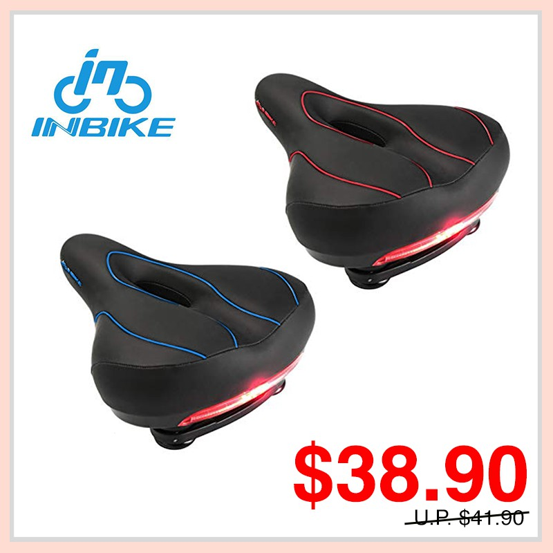 Bicycle AM Scooter DYU Scooter Seat With LED Back Light