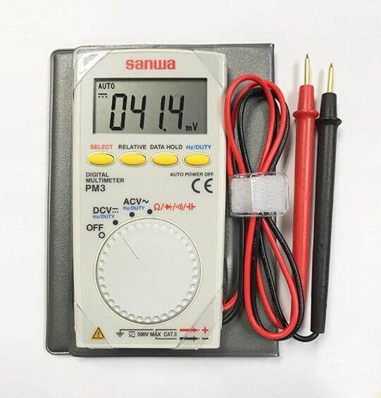 SANWA PM3 Portable Mini Pocket Multimeter Digital Multimeter