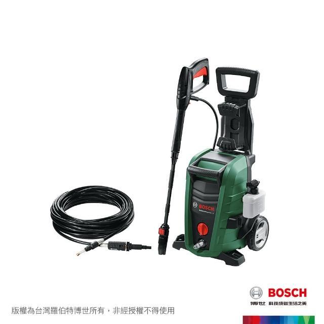 【BOSCH 博世】高壓清洗機 UA 125 + 硬管清潔用軟管