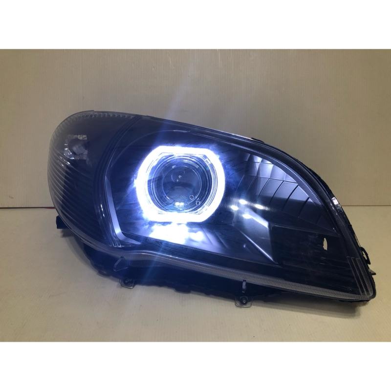 全新品 豐田 VIOS 06-13年 仿F30光圈魚眼燻黑大燈