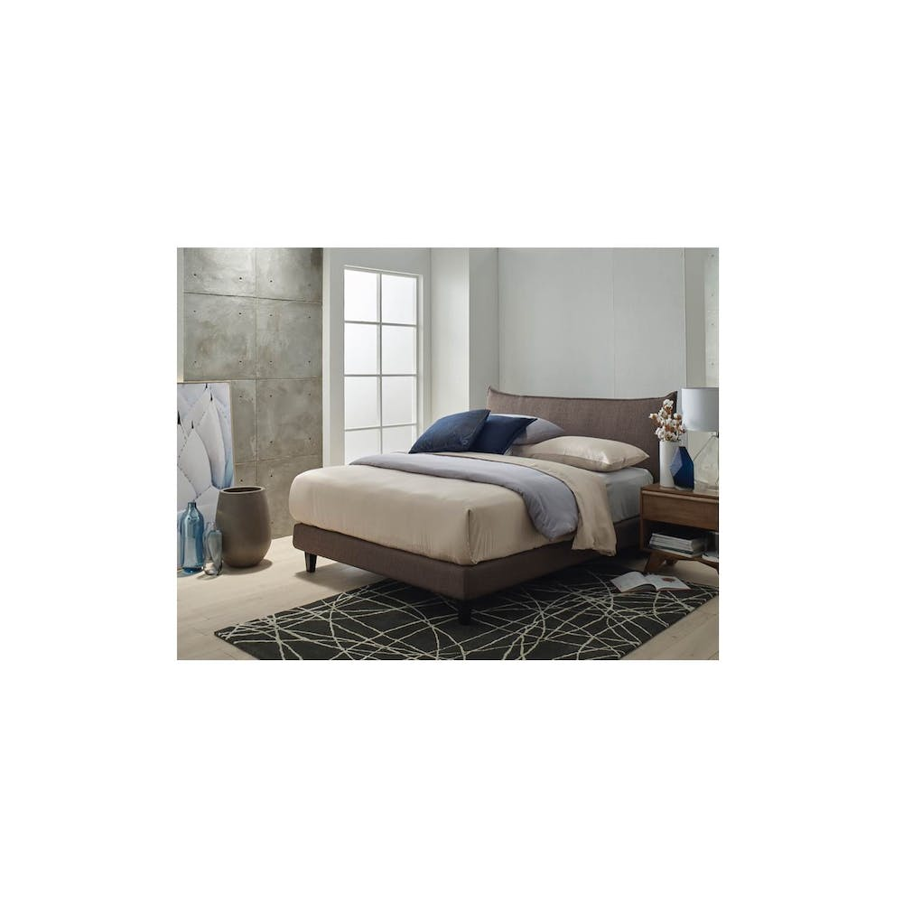 Pillow Bed Frame - Queen Size