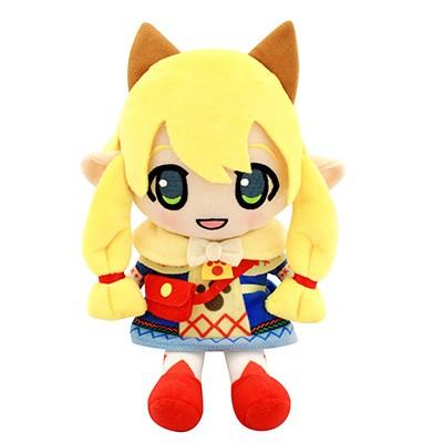 魔物獵人XX 絨毛玩具 娃娃 貓娘 卡蒂