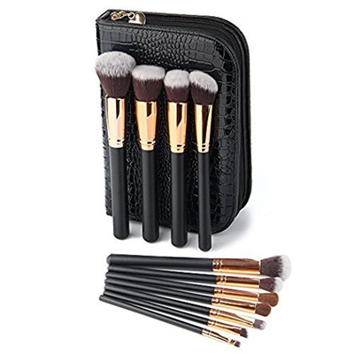 [VANDER LIFE] Vander Makeup Brushes Set Professional Make-up brush Cosmetics Brushes Set Kit + Pouch