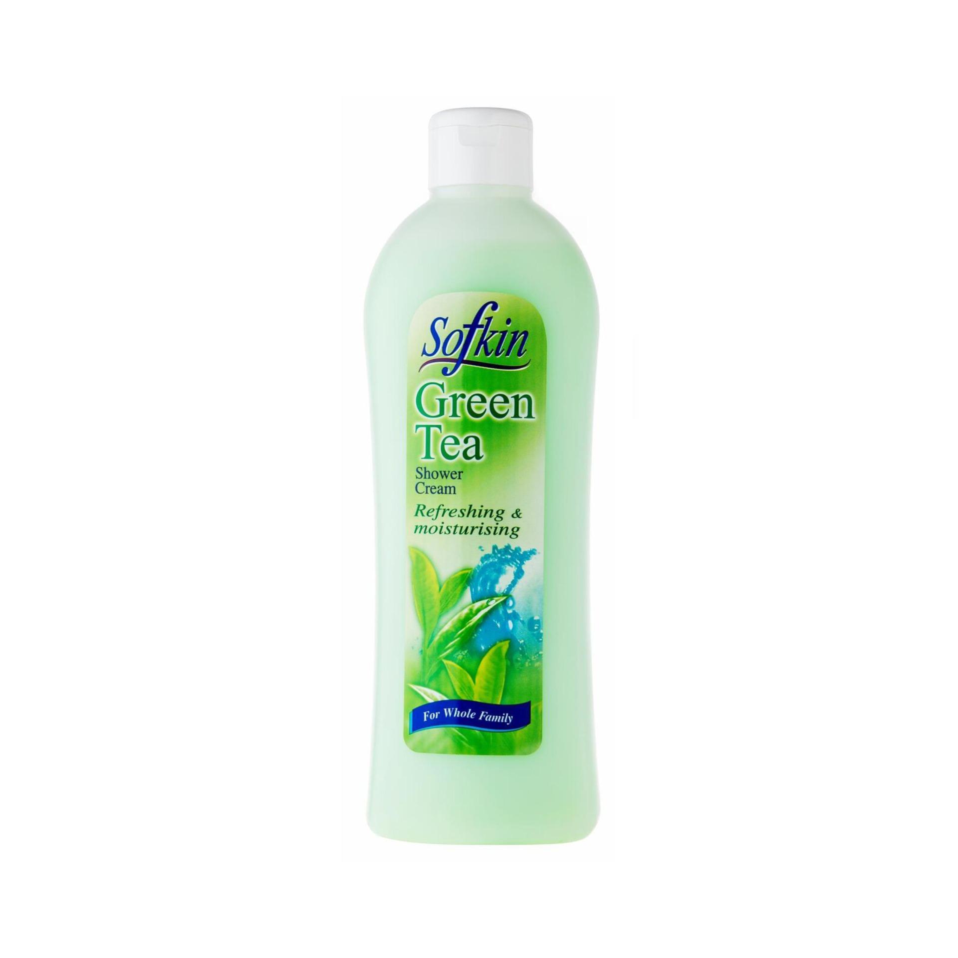 Ginvera Sofkin Green Tea Shower Cream 1000g