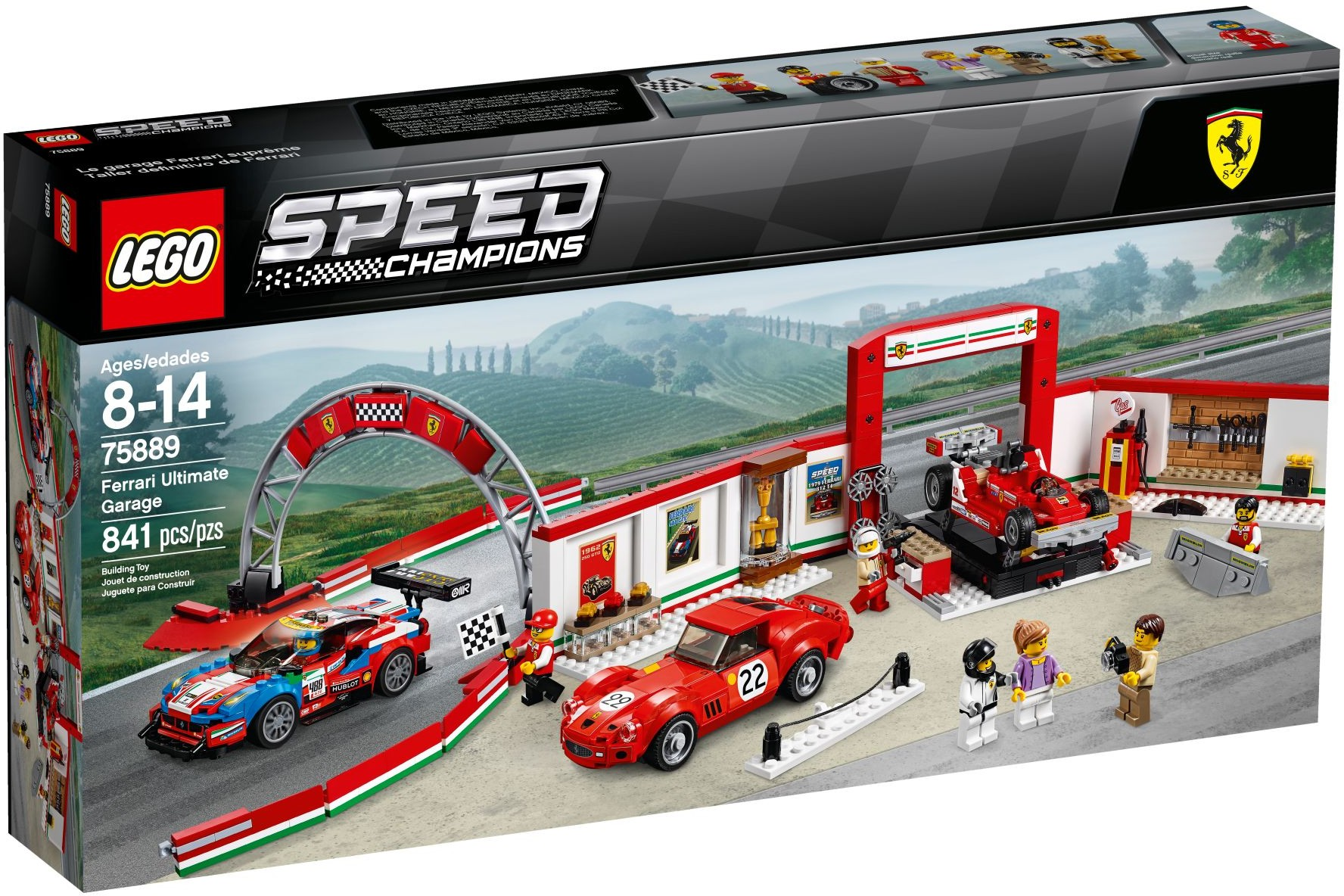 ☆勳寶玩具舖【現貨】LEGO 樂高 SPEED 賽車系列 75889 Ferrari Ultimate Garage