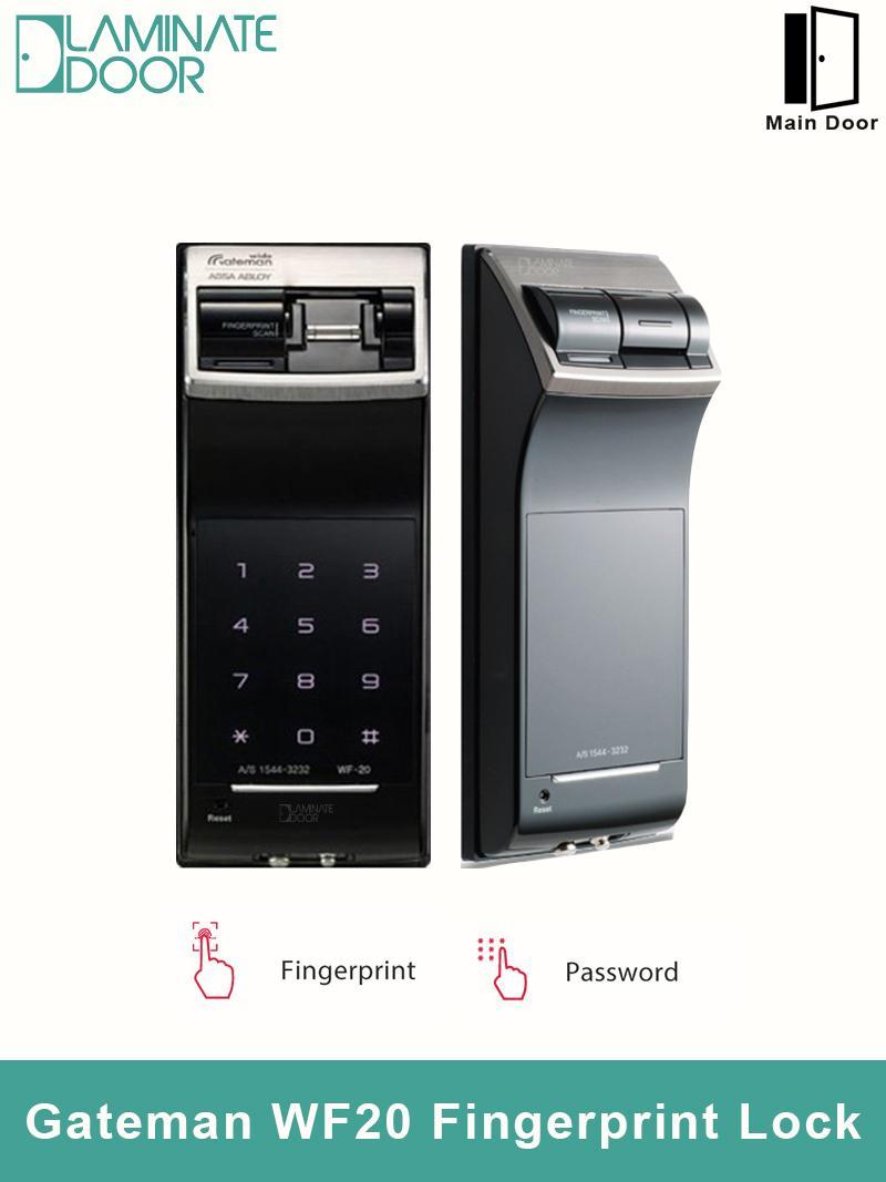 Gateman WF20 Fingerprint Digital Door Lock (Install on Wooden Door)