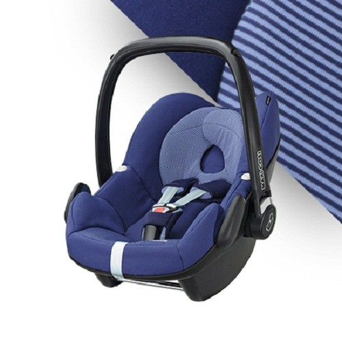 MAXI-COSI Pebble 新生兒提籃汽車安全座椅-頂級款-藍紫