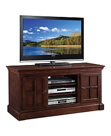 """Leick Home Bella Maison Two Door 52"""" TV Console with open Component Bay"""