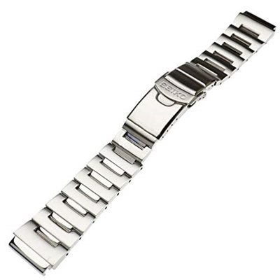 ▶$1 Shop Coupon◀  Seiko Steel Watchband For Monster Watch. Genuine Seiko Watch Band 20mm.