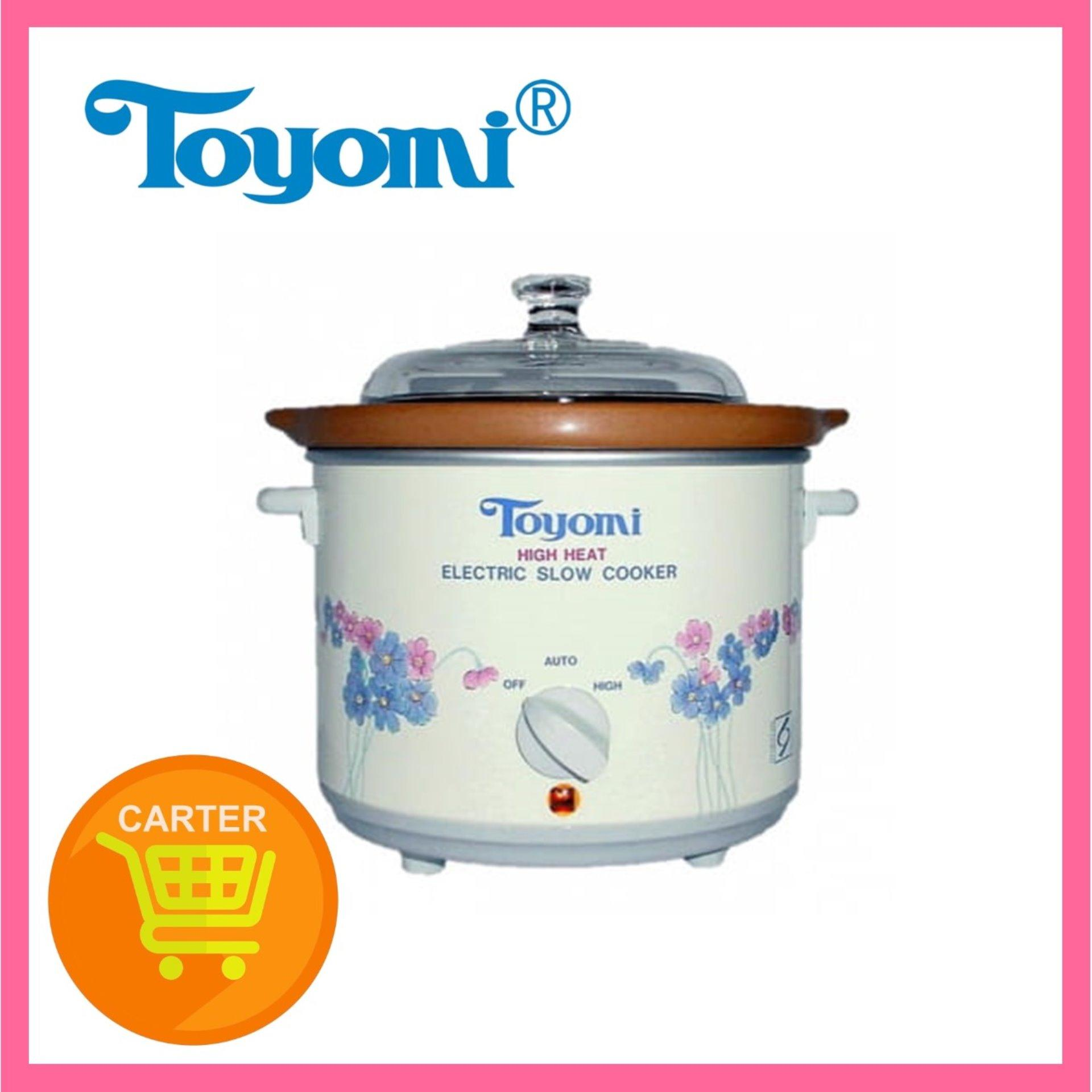 Toyomi Slow Cooker with Ceramic Pot HH1500 1.2L