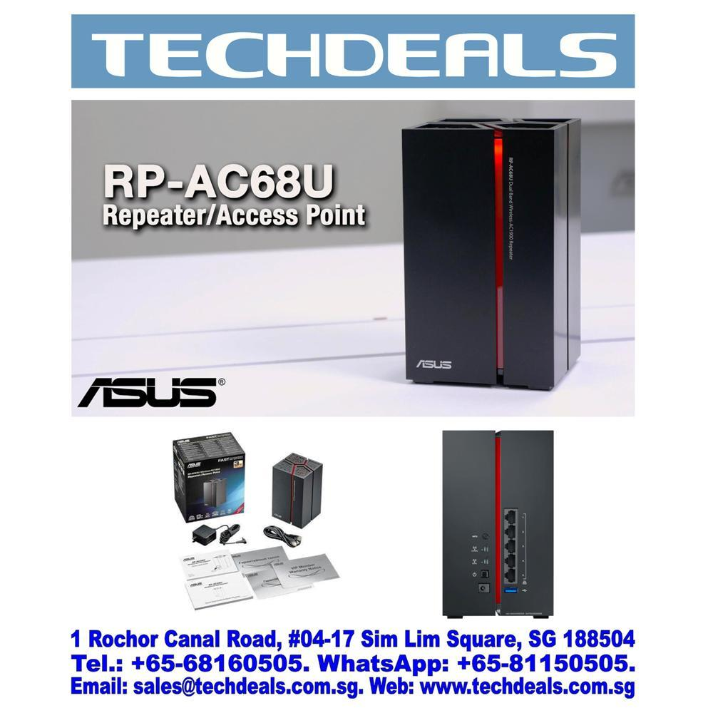 Asus RP-AC68U Dual-Band Wireless AC1900 repeater