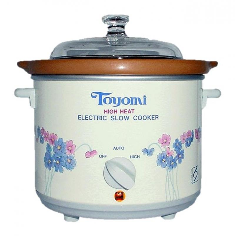 Toyomi HH 1500A High Heat Pot Slow Cooker 1.2L 1 Year Warranty