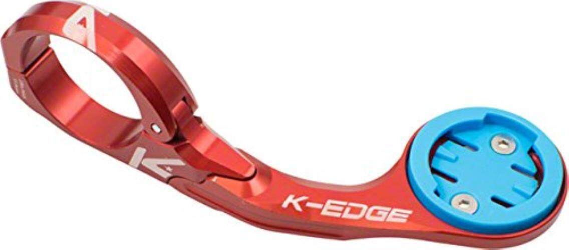 K-EDGE Wahoo ELEMNT Handlebar Mount 31.8mm Red