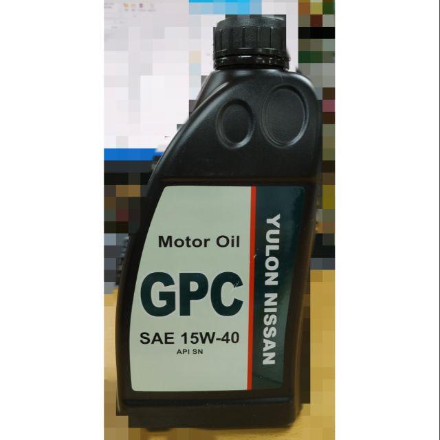 NISSAN GPC Motor Oil 15W-40 原廠機油