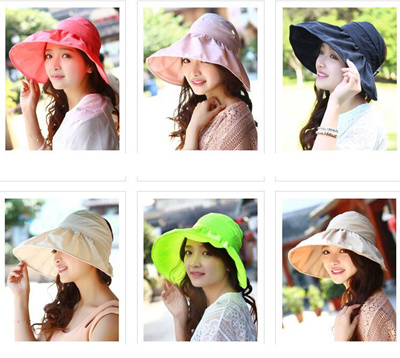 linen material fashionable 100% cut summer hat UV hat UV-cut hat ladies large size wide brimmed vaca