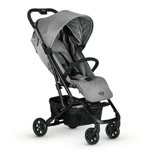 【領卷現折1100】荷蘭 Easywalker MINI BUGGY XS 嬰兒手推車/傘車/三折口袋車 蘇活灰好窩生活節