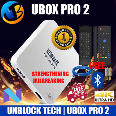 #Cheapest+ Free Air Mouse#2019 Version Ubox Pro 2 OS 7 BT HK Version Local Seller 1 Year Warranty