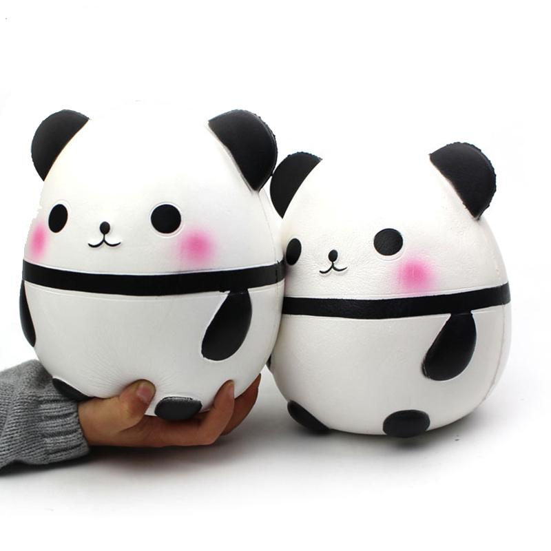 Big Size Panda Squishy Toy Squeeze Funny Creativity squishie Abreact Stress Reliever Joking Decompression squishies Toys