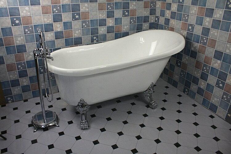 浴缸 東方衛浴/壓克力雙層保溫浴缸/獨立式浴缸/歐式貴妃浴缸1.2-1.7米 DF 科技藝術館