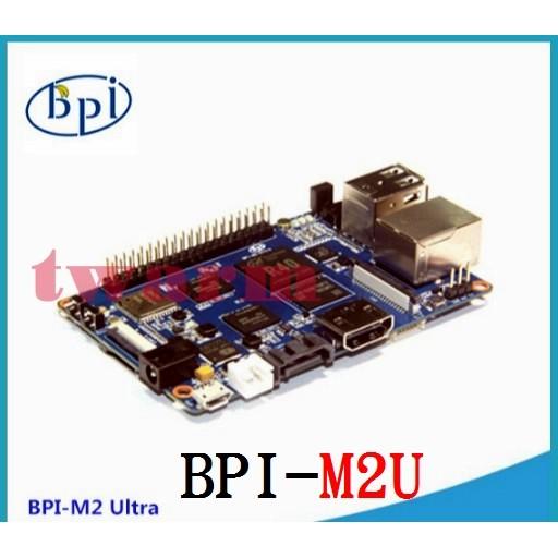 TW17658 / 香蕉派 Banana Pi M2 Ultra (BPI-M2U) 四核 2GB DDR 8GB