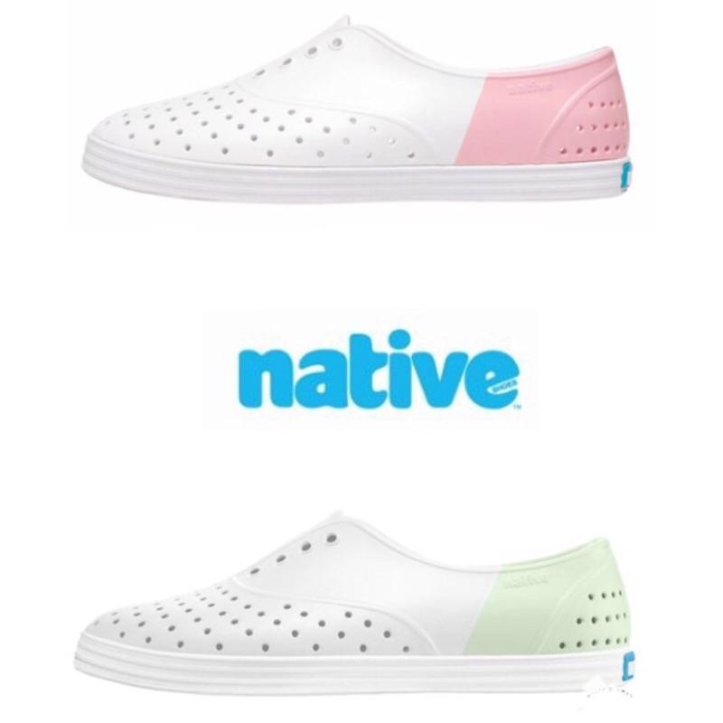 正品專櫃現貨 加拿大Native JERICHO 馬卡龍 修身鞋 防水 雨鞋 白 草莓 女鞋