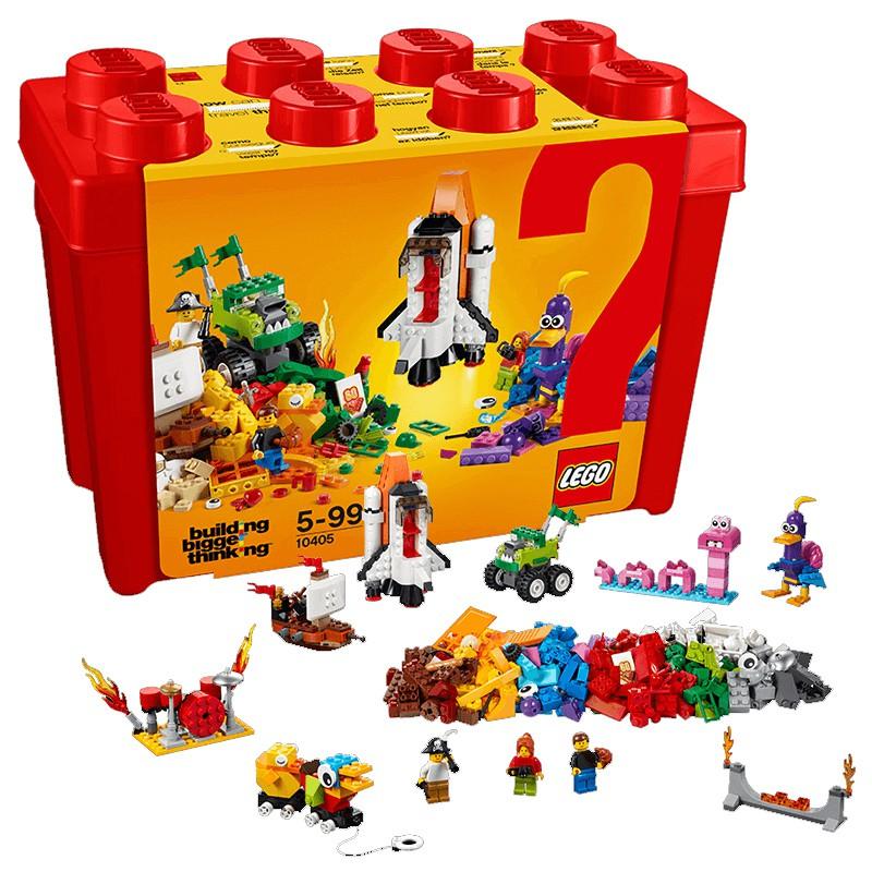 LEGO樂高積木經典創意系列拼裝玩具60周年紀念款火星任務10405