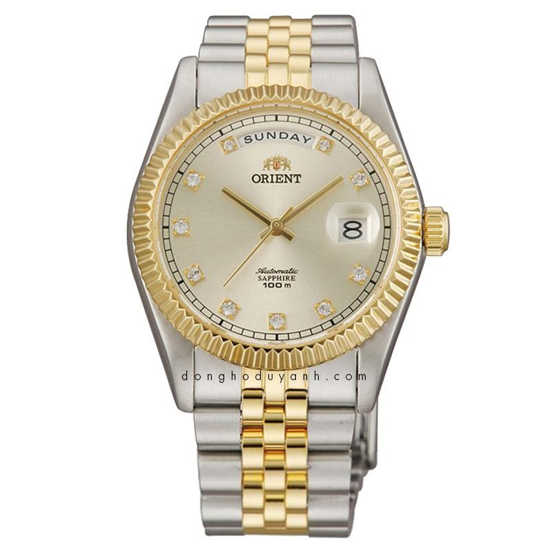 Orient SEV0J002CY EV0J002C Oyster President Dignitary Classic Automatic Sapphire Watch